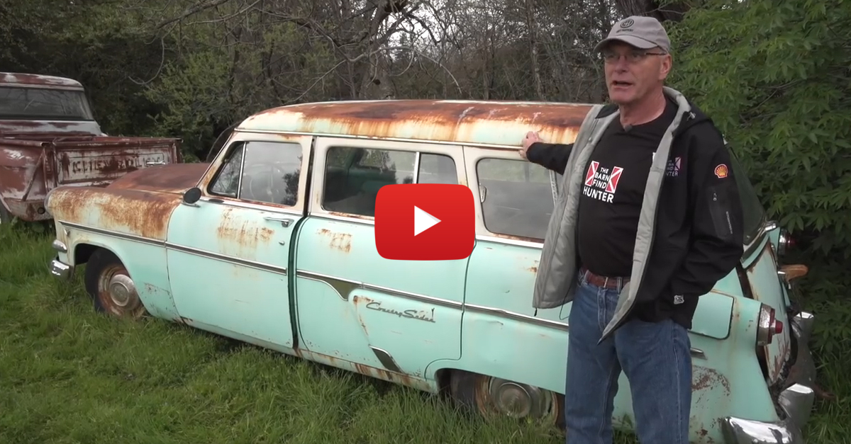 The Barn Find King Goes Nuts In Wine Country