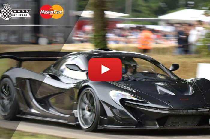 McLaren P1 LM's Record-Breaking FOS Run