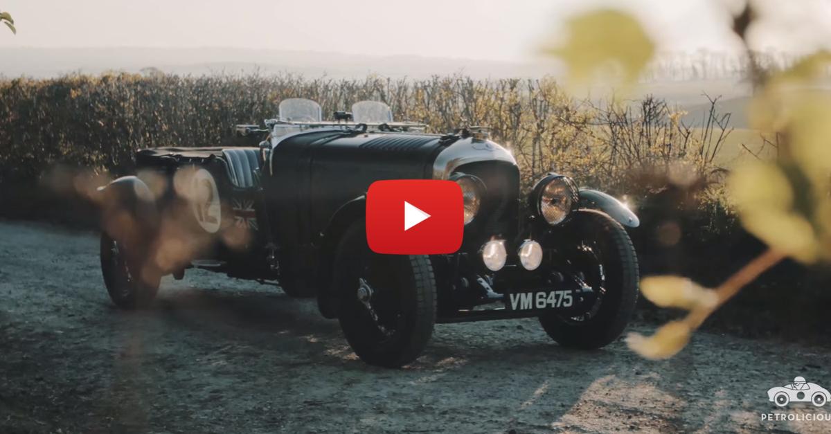 Vintage Pre-War Bentley Has The Heart Of A Soldier