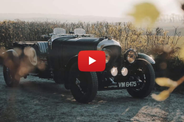 Vintage Pre-War Bentley Has The Heart Of A Soldier