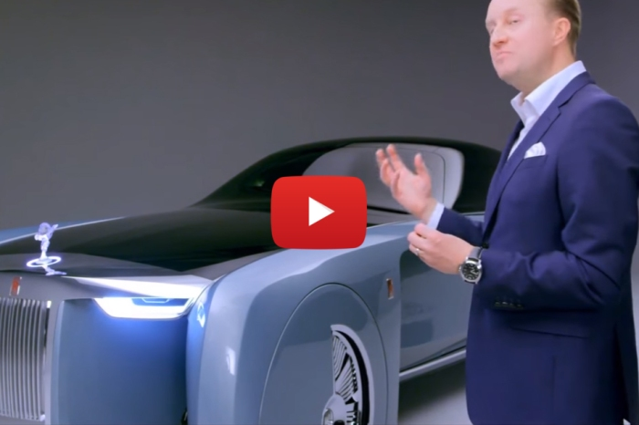 Rolls-Royce's VISION Next 100 Concept Is The Future of Luxury
