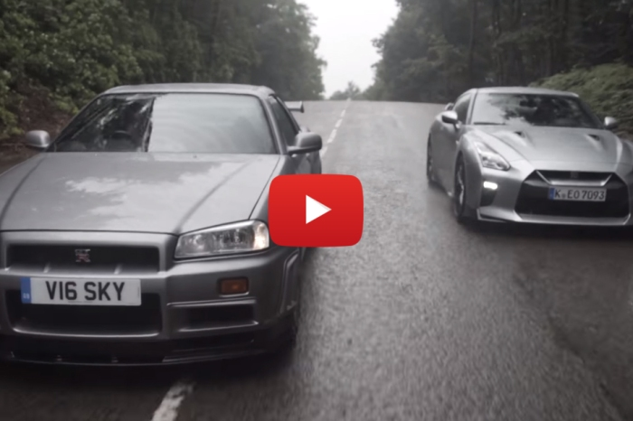 It's Classic Versus Current In This Skyline/GT-R Faceoff