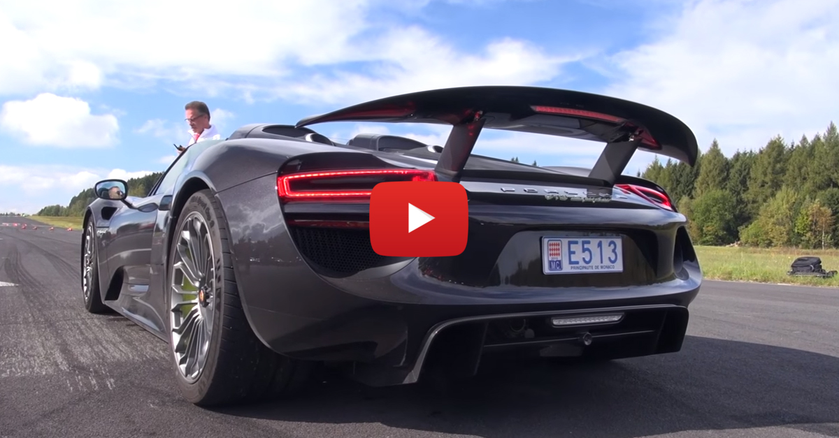 There Are Too Many Supercars To Count In This Video