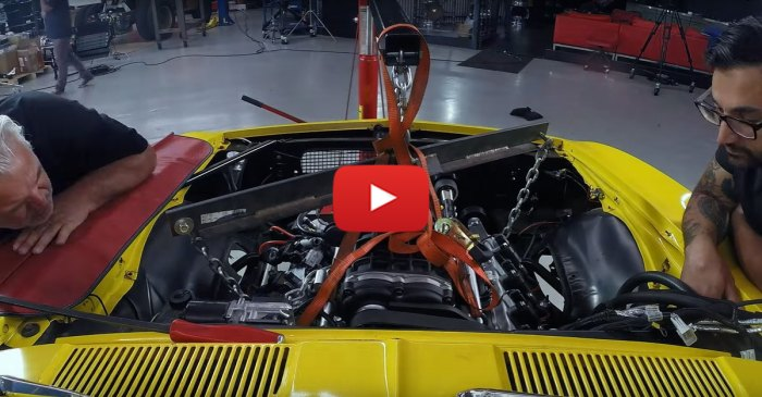Crusher Camaro Gets a 427ci Supercharged LS Swap!