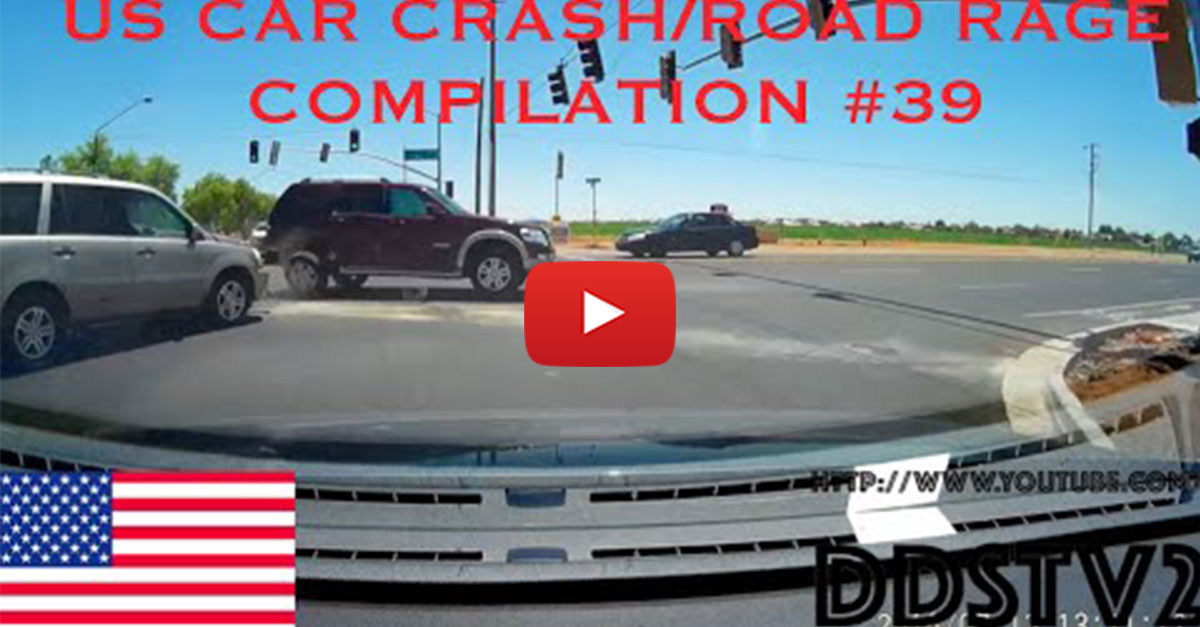 New Car Crash And Road Rage Compilation