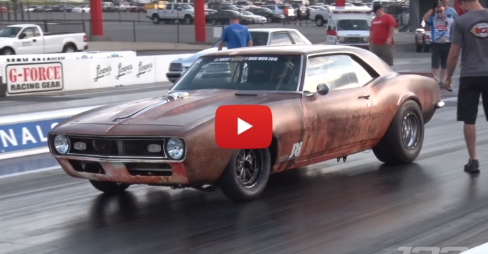 """This """"Rust Bucket"""" Camaro Is A 1400 HP Monster"""