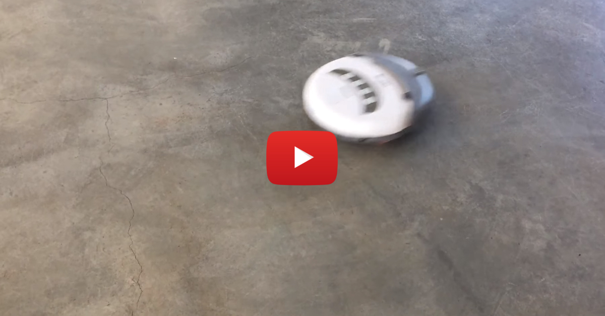 Berkeley Student Builds A Speedy Souped-Up Roomba