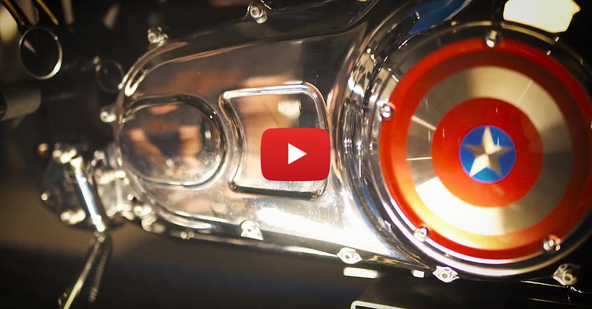 Harley Davidson And Marvel Are Bringing You Custom Superhero Bikes