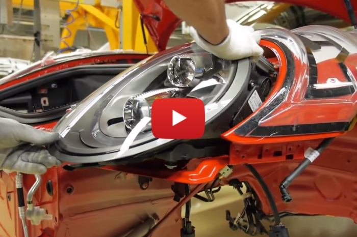 Watch A Porsche 911 Come Into The World Piece By Piece