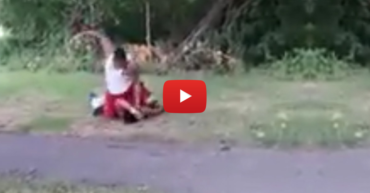 Video Of Man Brutally Beating Alleged Rapist Has Gone Viral. Did He Go Too Far?