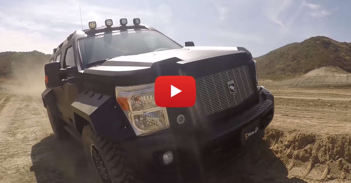 Introducing The Rhino GX, Your Luxury Offroad Assault Vehicle