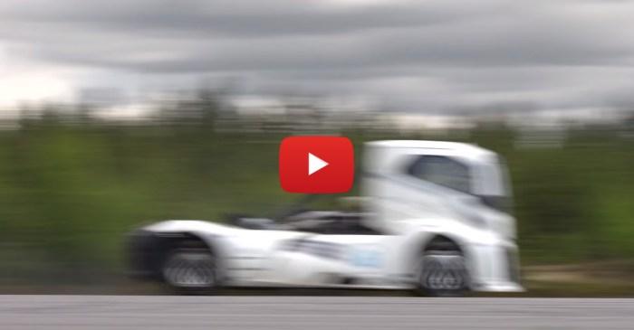 "Volvo's ""Iron Knight"" Breaks Land Speed Record Twice Over"