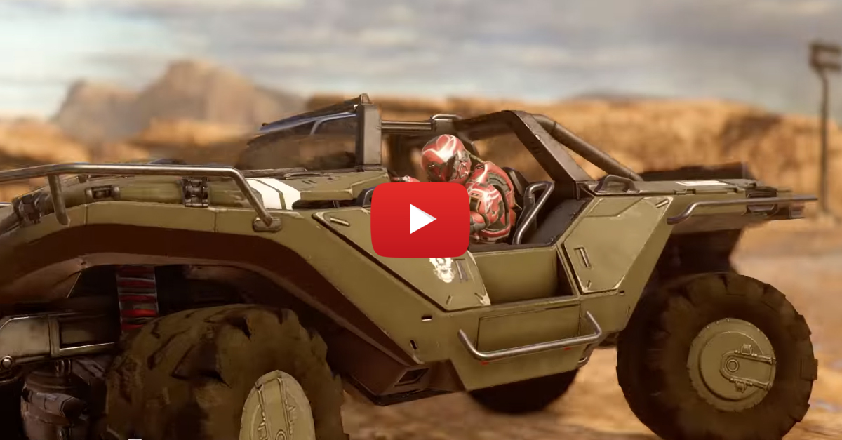 Master Chief Would Be Happy To Hear Halo's Warthog Is Coming To Forza 3
