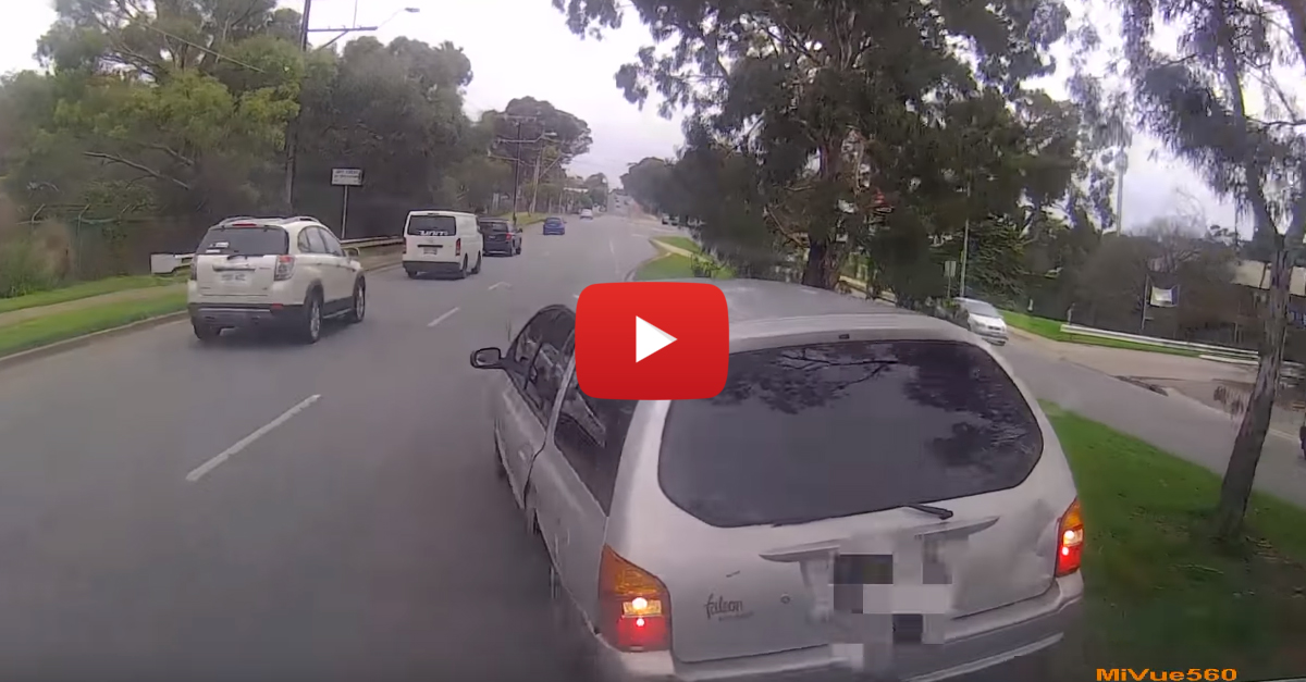 Road Rage Brake Checking Ends with Attempted Reverse Ramming