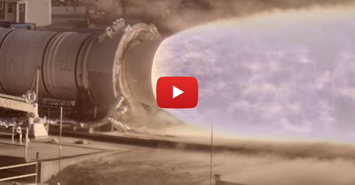 This Footage of a NASA Rocket Test is So Incredible That It Doesn't Look Real