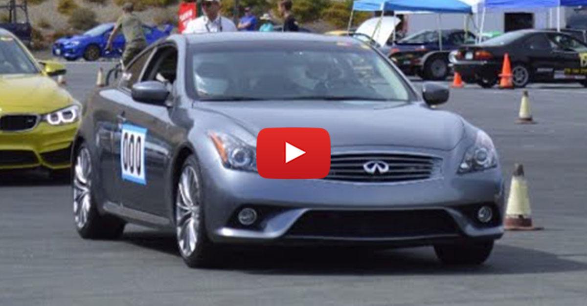 Matt Farah Show You Around A Modified Infiniti G37 Coupe