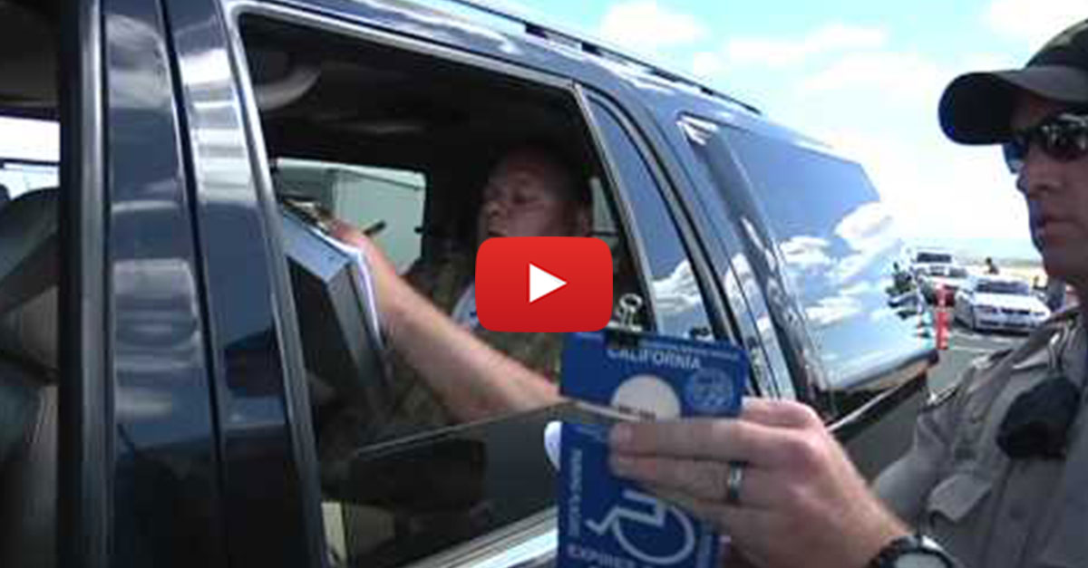 People Abusing Handicap Placards At NASCAR Get Huge Tickets