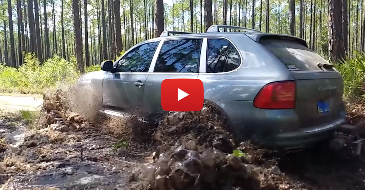 Mudding In A Porsche Cayenne Is The Right Thing To Do