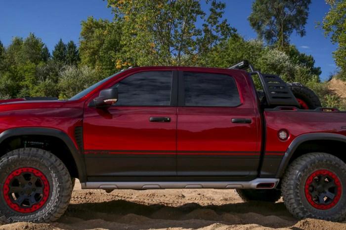 [VIDEO] The Dodge Ram Rebel TRX Truck is a Hellcat Powered 575 HP Workhorse!