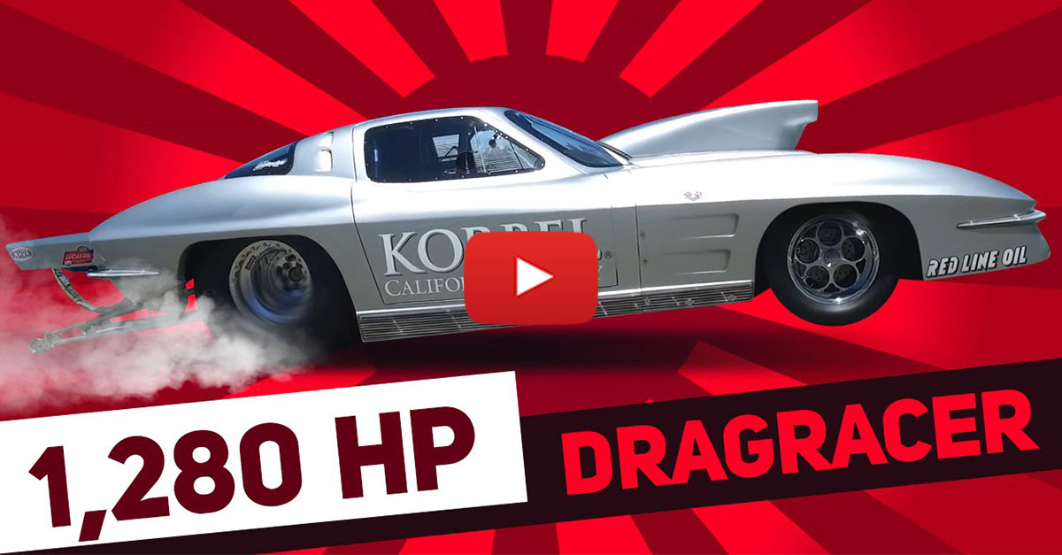 Everything About This Corvette Dragster Is Awesome