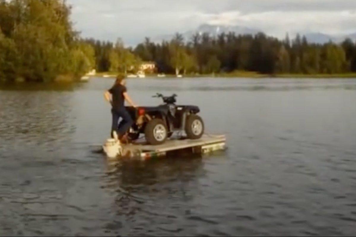 mutant waterbug trailer