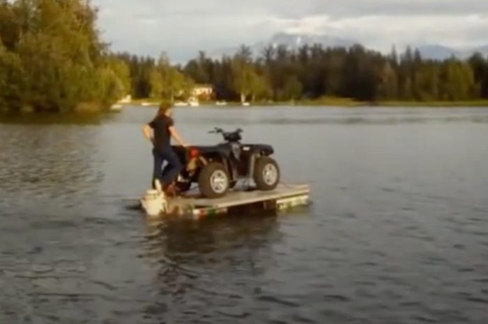 This Amphibious Trailer Does It All and Then Some