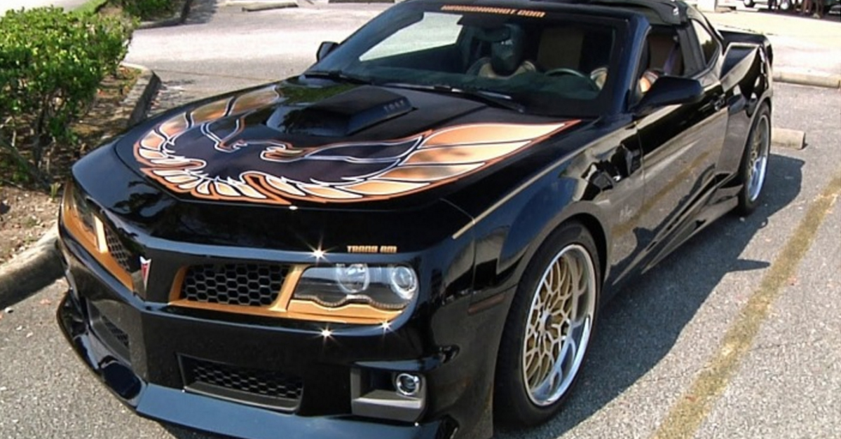 This Trans Am will make you wish they were all coming back!
