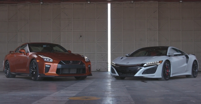 """[VIDEO] When """"Godzilla"""" and the NSX Square Off, Who Is The Real King Of Monsters?"""