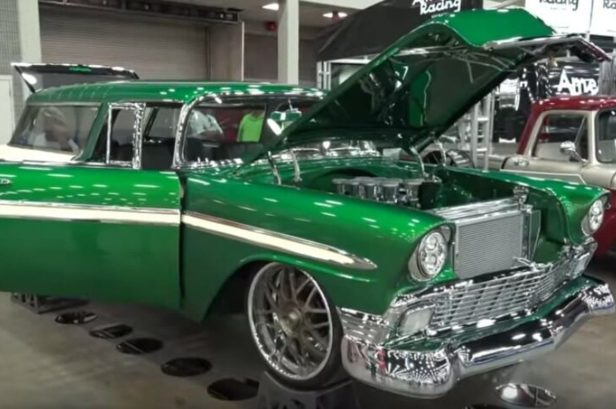 Customized '56 Chevy Nomad Wagon Turns Heads at Street Rod Show