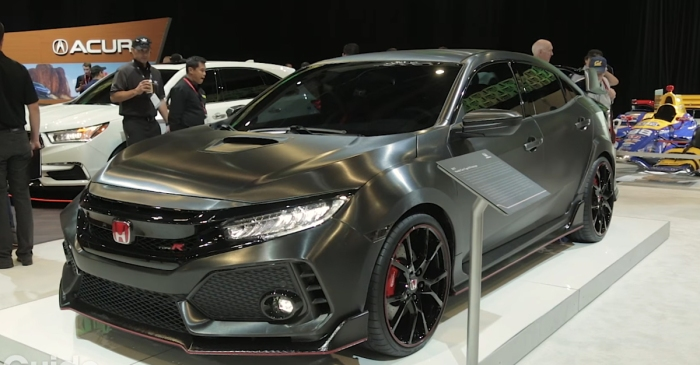 [VIDEO] SEMA 2016 – Honda Steals The Show With Civic Type-R And Acura NSX