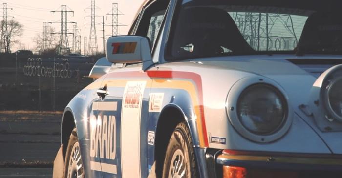 [VIDEO] Porsche 911 Rally Car Dominates Detroit's Grassroots Rally Scene