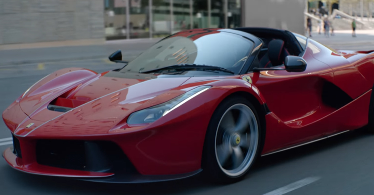 [VIDEO] LaFerrari Aperta Is All of Ferrari's Past Poured Into One Car