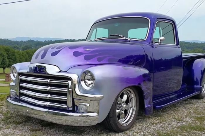 [VIDEO] 1955 Model GMC 454 Big Block Pickup is For Sale at $58,500