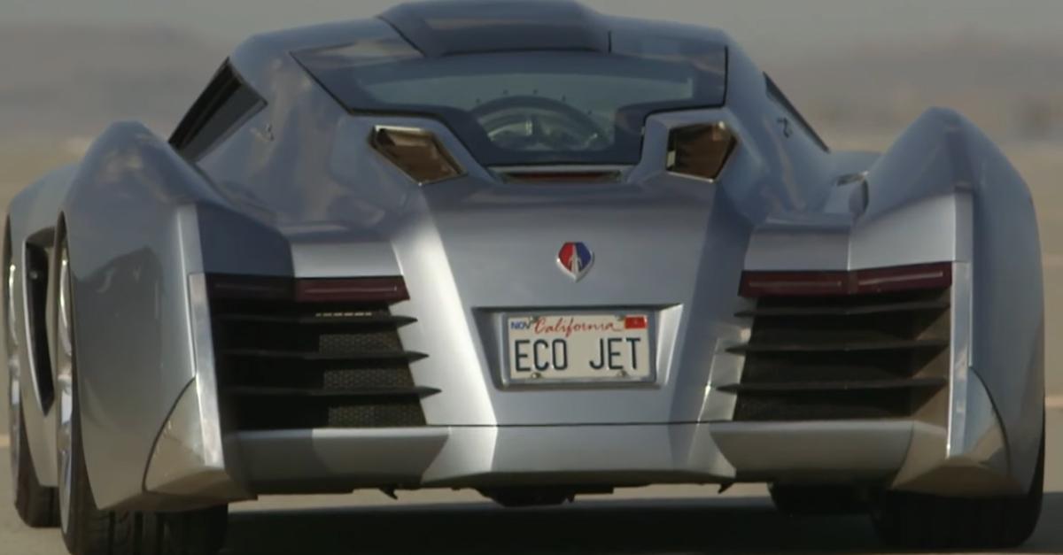 EcoJet Jay Leno's Garage