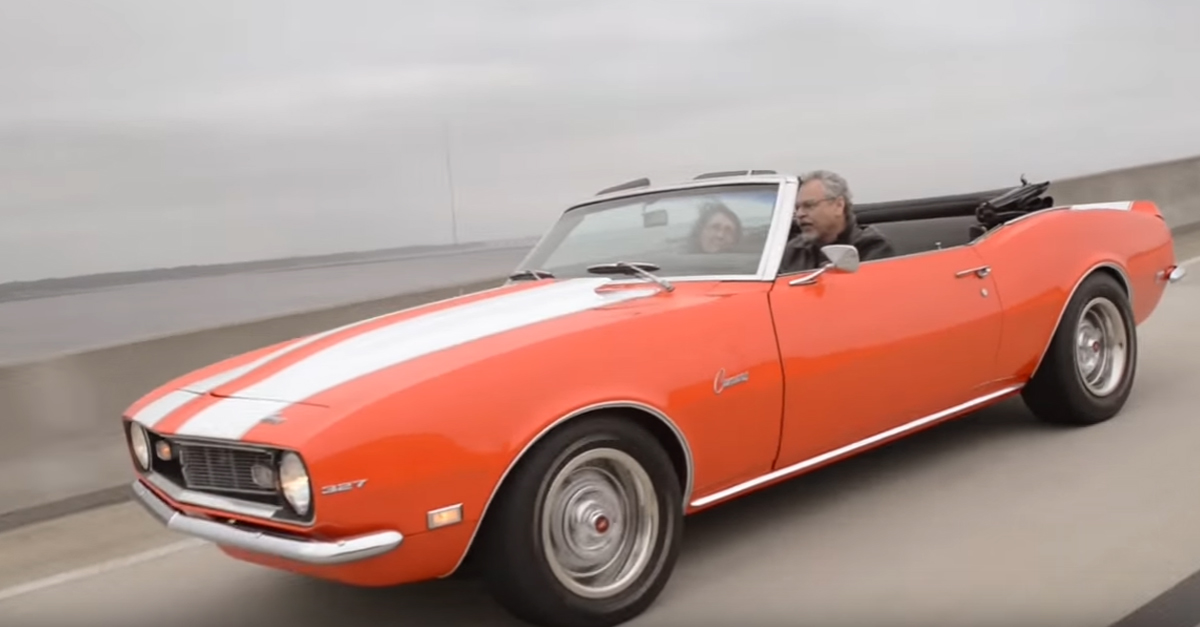 [VIDEO] For Christmas, a Son Surprises His Father with His Dream Car – A 1968 Camaro