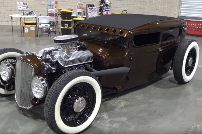 """[VIDEO] 1930 Ford Hot Rod is a Killer in """"Downtown Brown"""""""