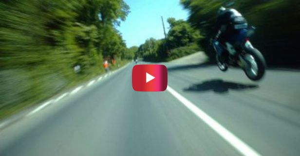 Suzuki vs. BMW in 200 MPH Superbike Race