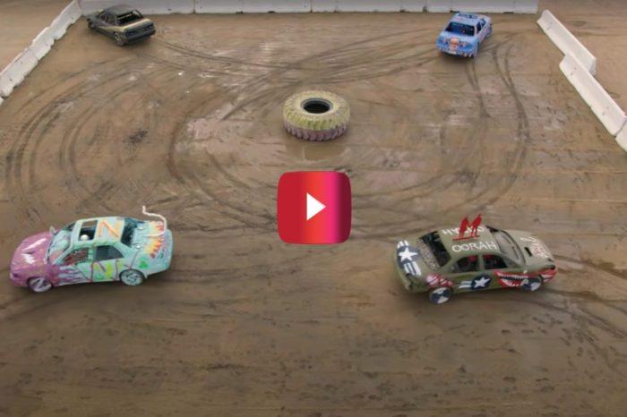 Amateurs Have a Destructive Blast Running Their First Demolition Derby