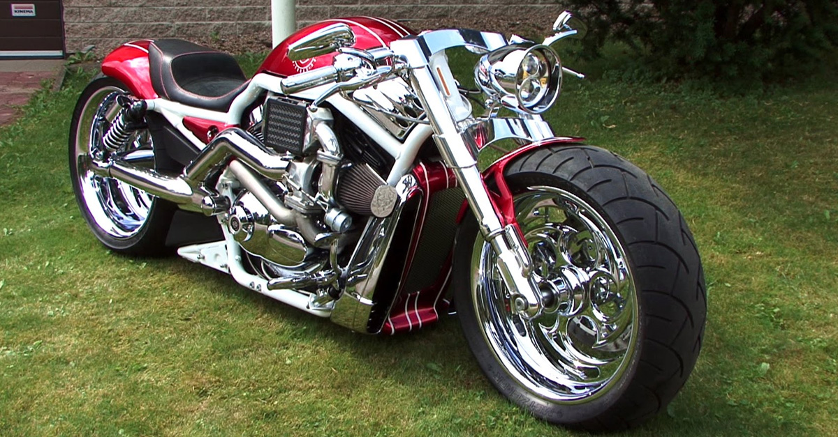 Custom Built Harley V-Rod Is Pure Style On Two Wheels