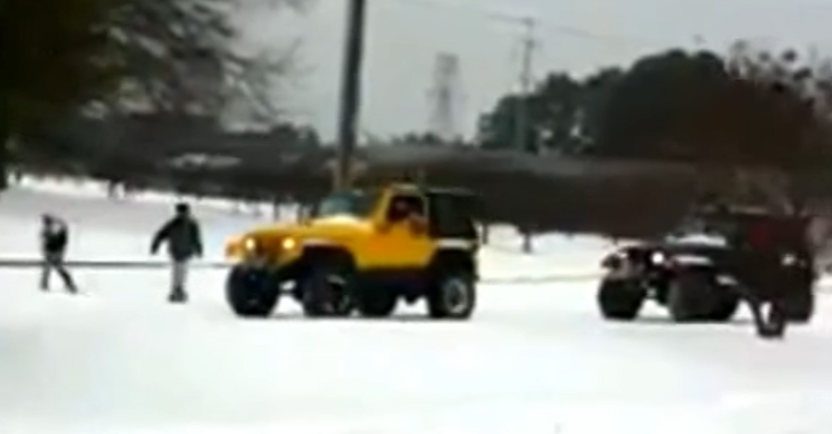 How Many Jeeps Do You Need To Rescue A Semi?