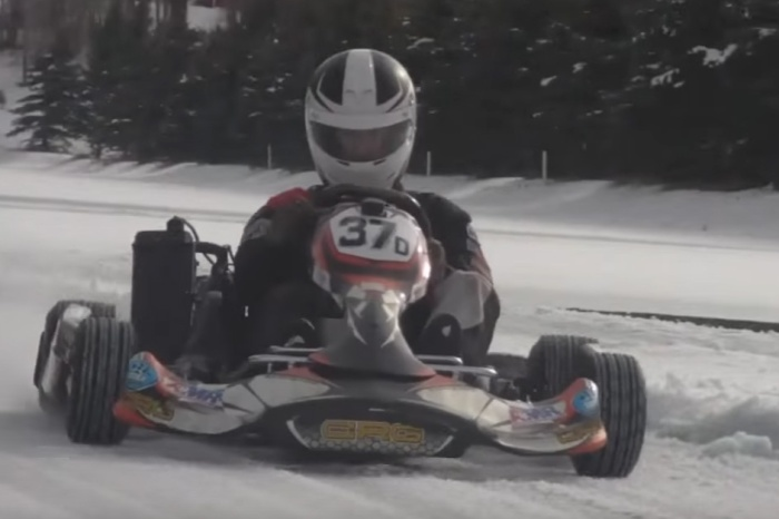 Ice-Karting Is So Much More Fun Than Go-Karting