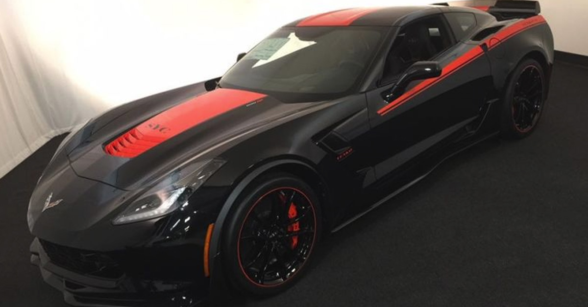 """Now You Can Own Corvette's 800 HP """"Hellcat Slayer"""""""