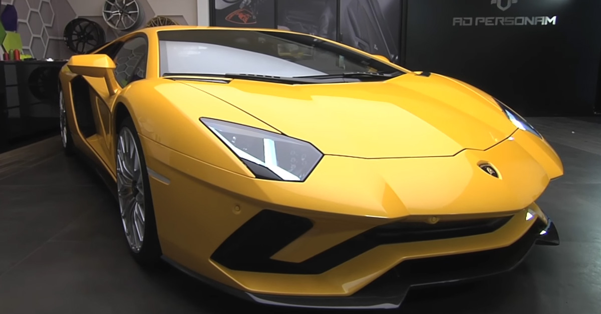 Redesigned 2017 Lamborghini Aventador S 2017 Is More Powerful Than Ever
