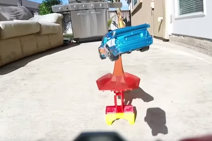 Hot Wheels Cars With A GoPro Mount Look Like Hollywood Stunt Cars