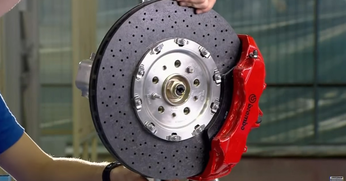Watch How They Make Ceramic Brake Discs For Ferrari
