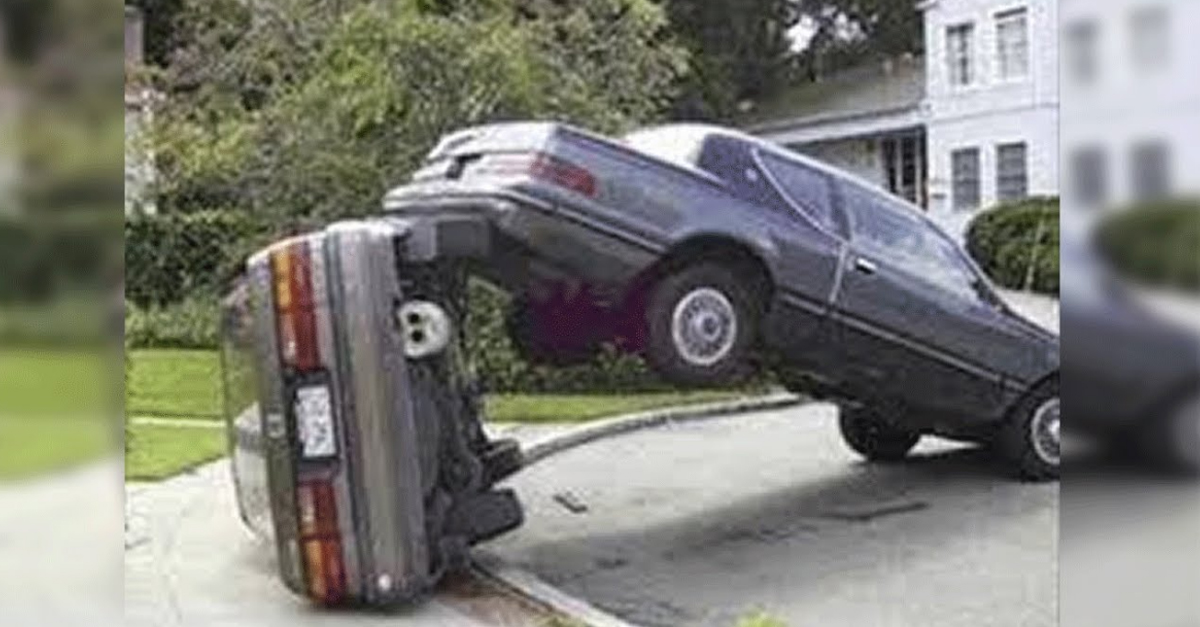 When the Worst Drivers Go Full Idiot