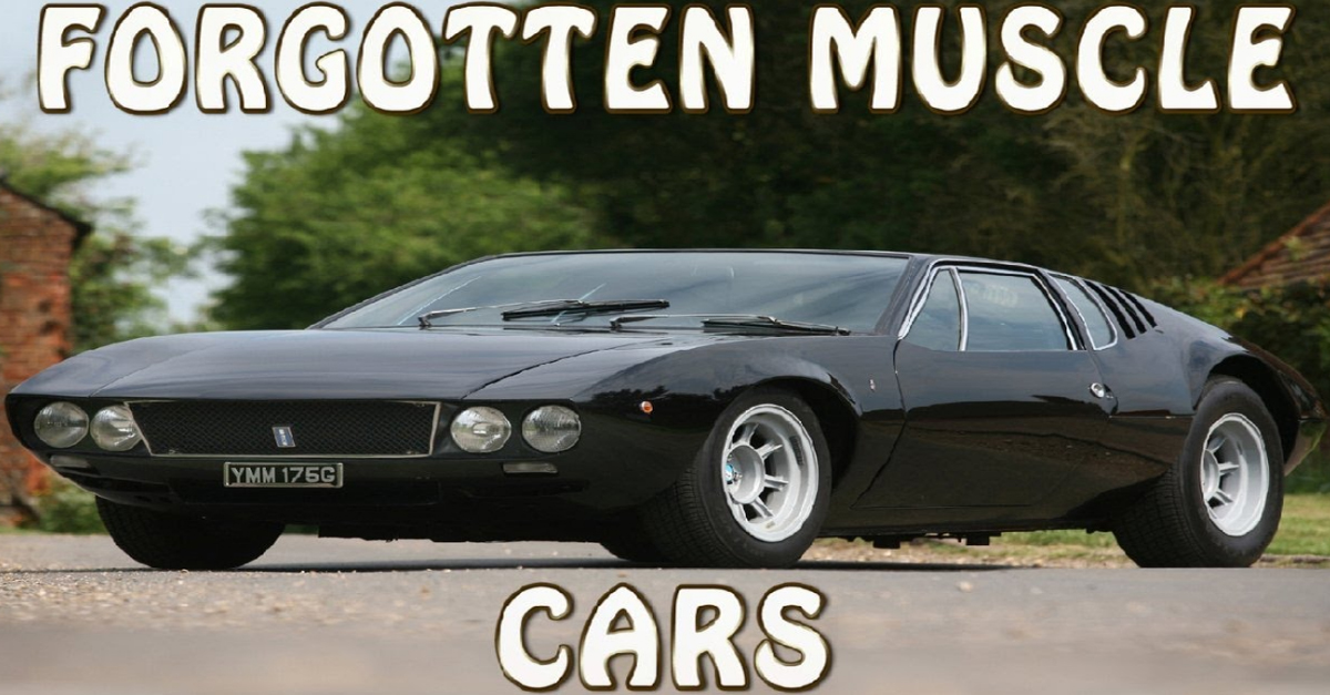 9 American Muscle Cars Everyone Has Forgotten About