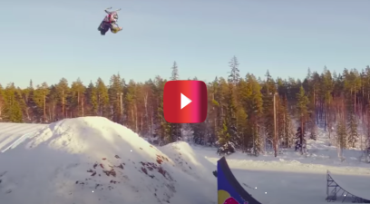 Daniel Bodin double backflip