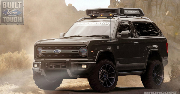 Is the rumor of the Ford Bronco's solid front axle just wishful thinking?