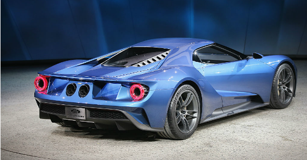The GT is officially Ford's fastest ever production car